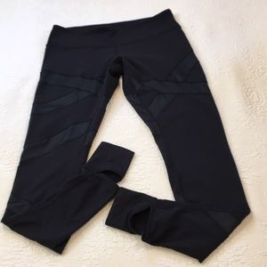 Lululemon criss cross leggings pants size 12